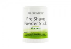 Blocmen Pre Shave Powder Stick Aloe Vera