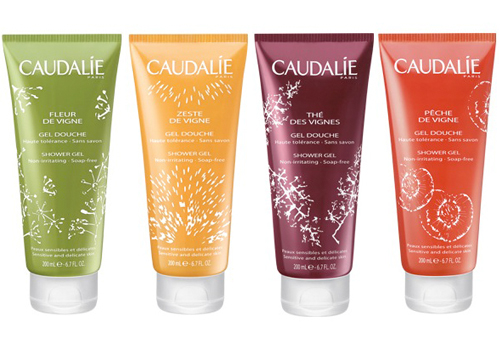 Nouvelle collection de gels douche Caudalie