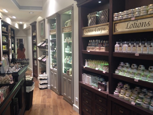 Nouvelle boutique Sabon a Paris