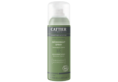Déodorant spray Cattier