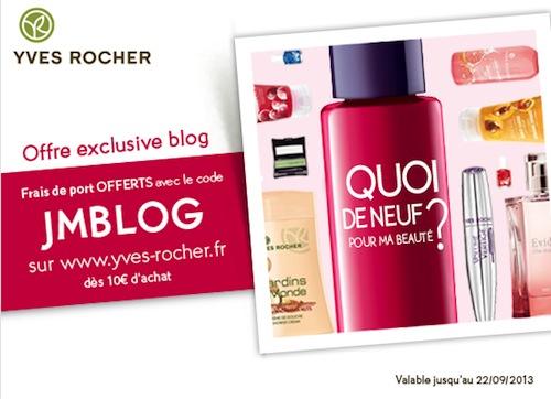 Yves Rocher fête les blogs