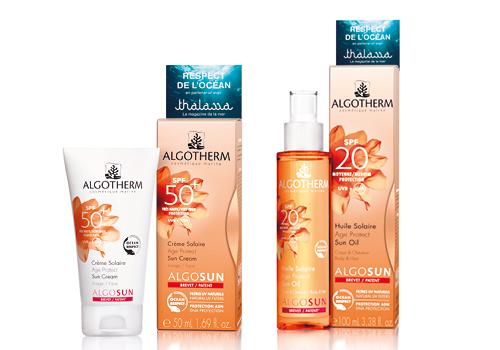 Algosun protège ma peau et préserve l'océan