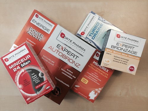 Préparer les vacances avec Forté Pharma (concours)