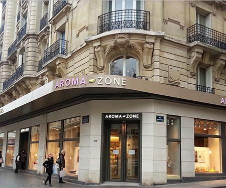 Découverte de la première boutique spa Aroma-Zone
