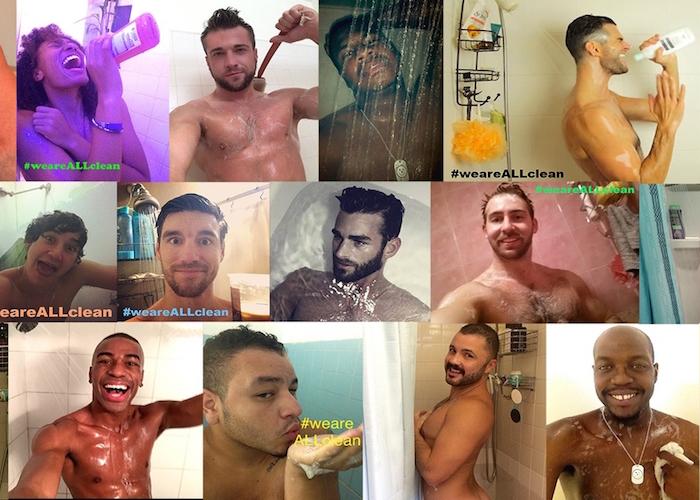 Un selfie contre le sida et la sérophobie