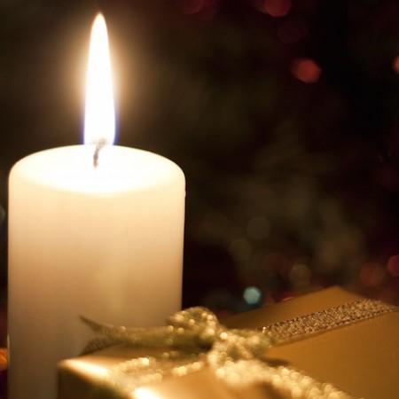Lumières de Noël parfumées