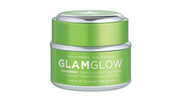 Huile et boue au menu du masque Powermud de Glamglow
