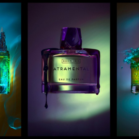 "Plein volume sur les parfums ""Room 1015"""