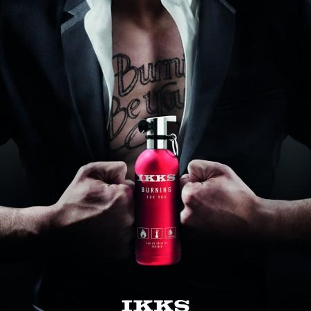 La chaleur monte avec le nouveau parfum IKKS