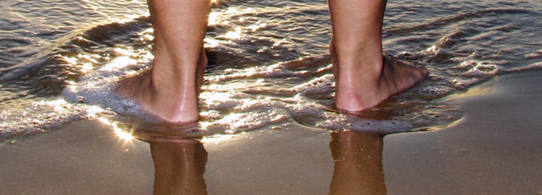 Les pieds aussi passent à l'heure d'été…