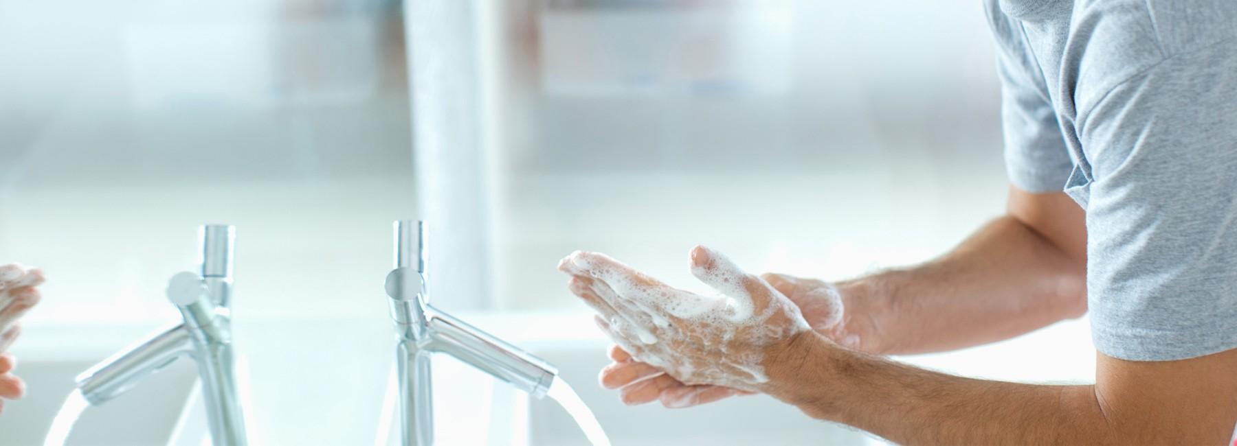 Lavez-vous les mains !