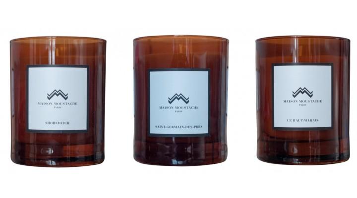 Maison Moustache : des bougies pour hommes