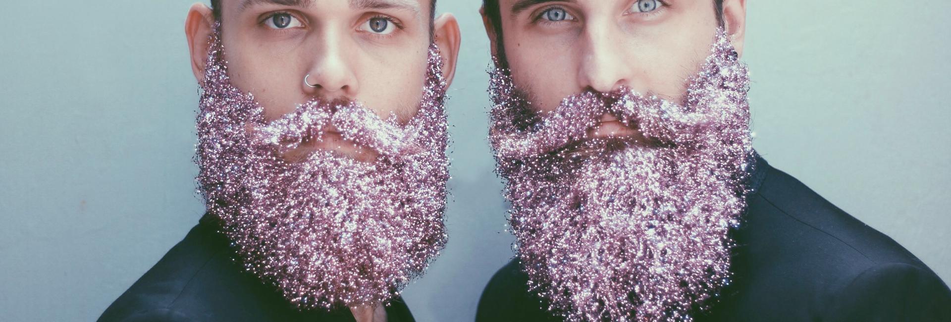Glitter beard for Christmas ?