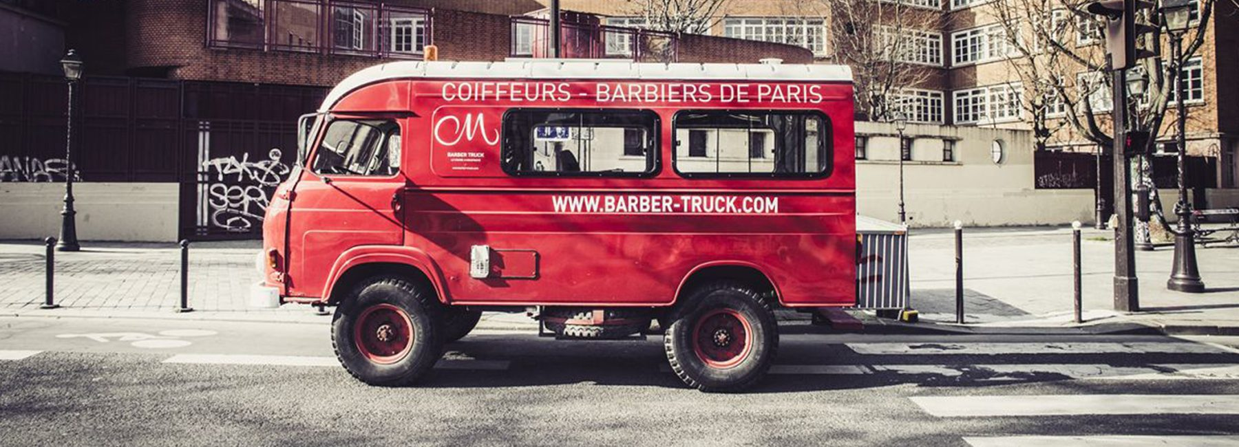 Barber truck Cigare à Moustache