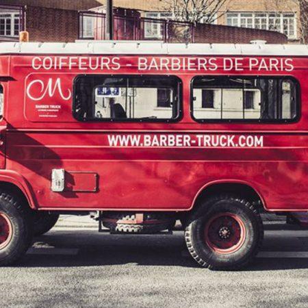 Le barber truck du Cigare à Moustache