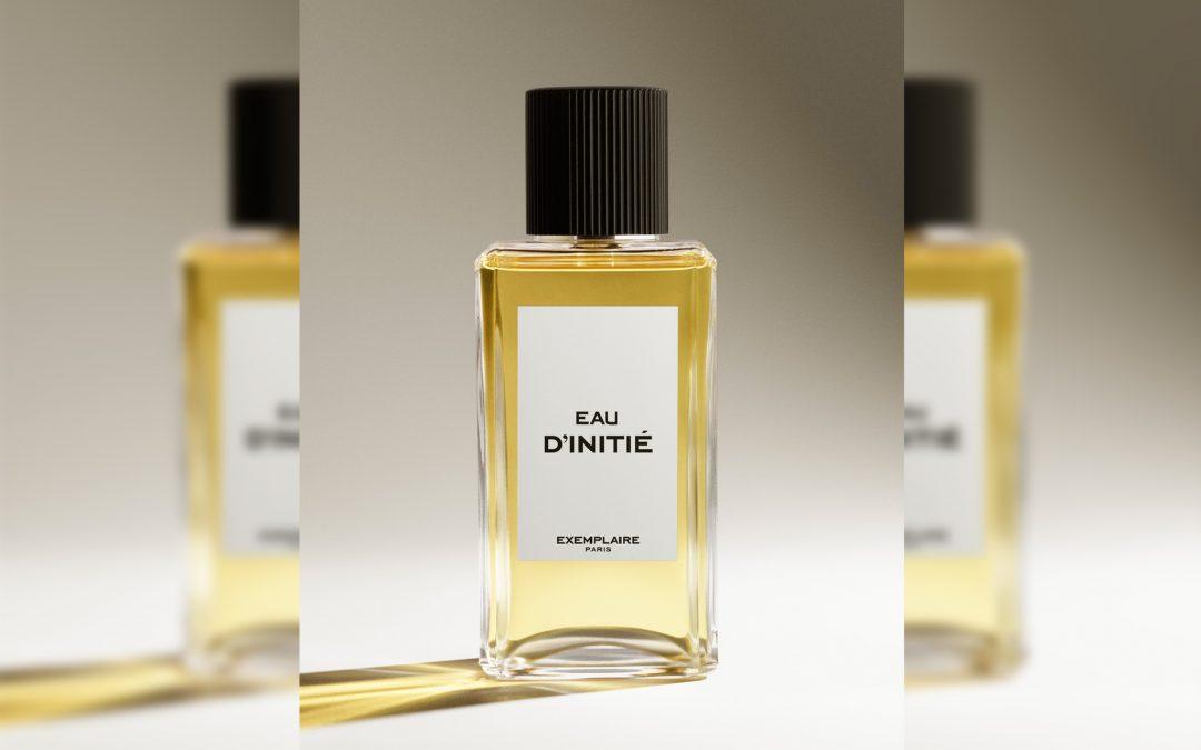 Eau d'initié, premier parfum d'Exemplaire Paris