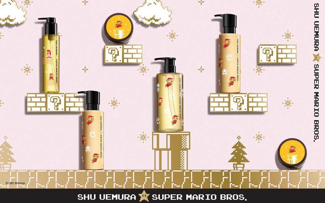 Shu Uemura x Super Mario Bros