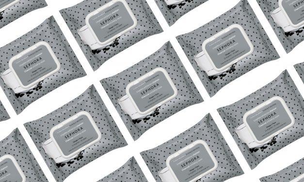 [Test] Lingettes exfoliantes au charbon, Sephora