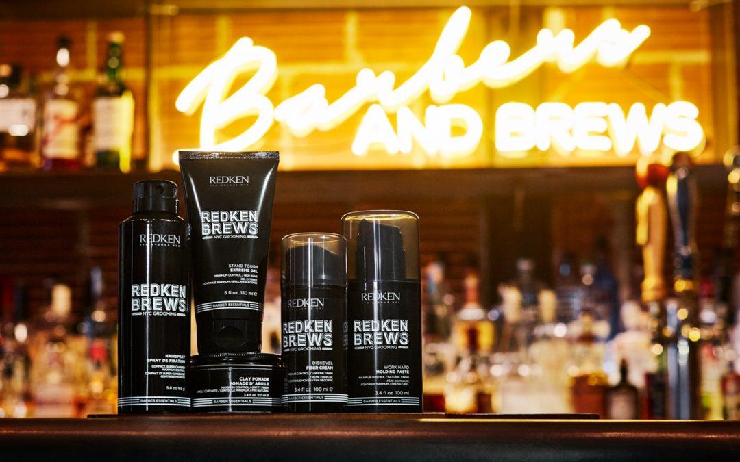 Redken Brews, la nouvelle gamme pour hommes de Redken