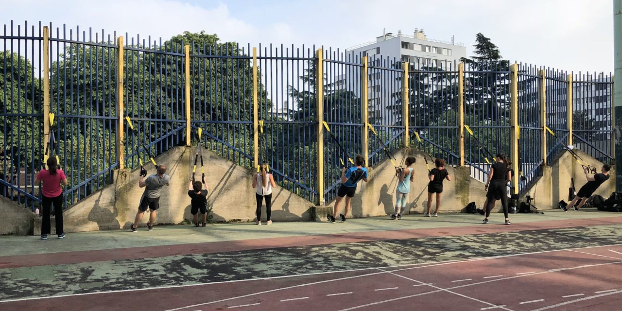 [Sport] Bootcamp en plein air à Front de Seine