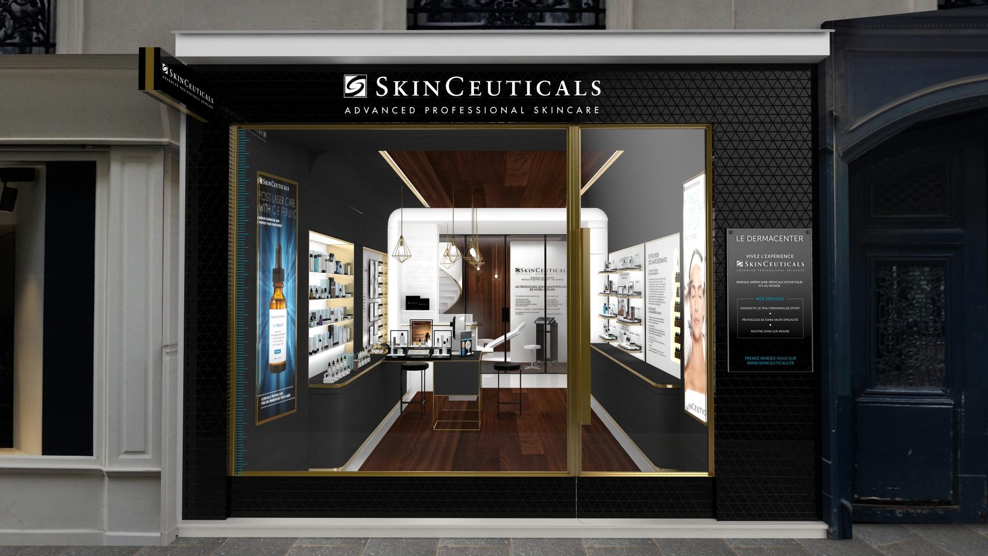 Premier écrin Skinceuticals à Paris