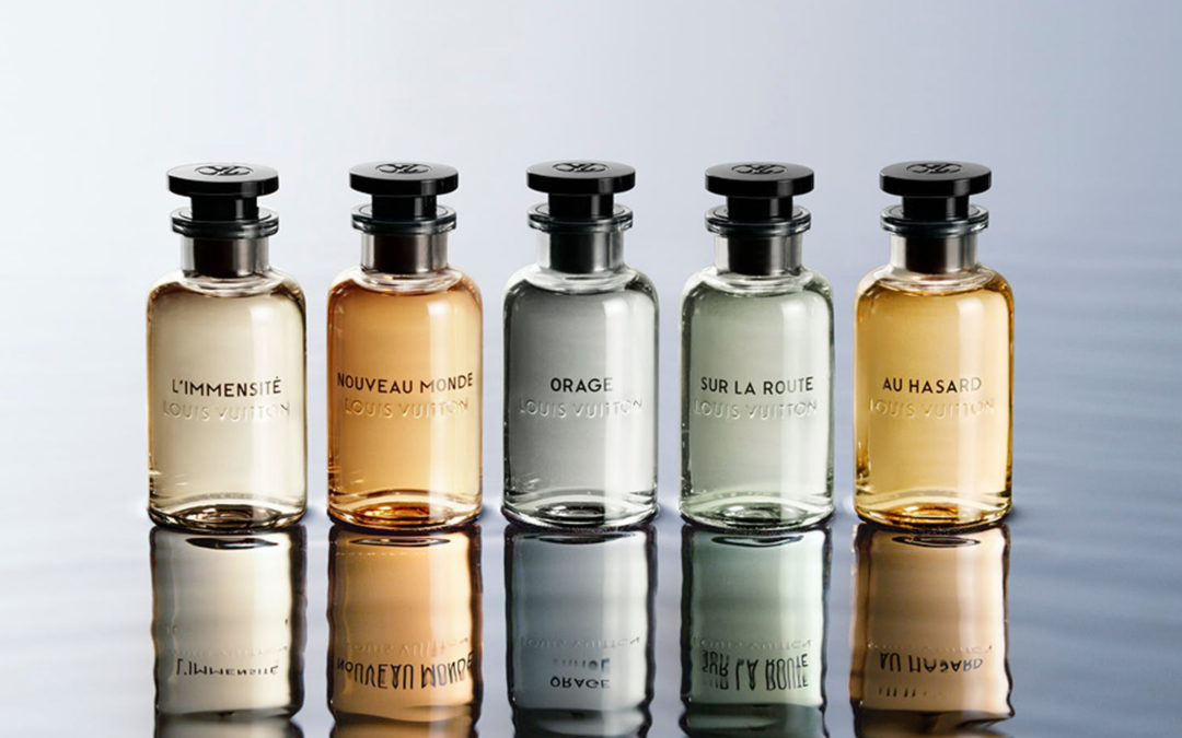 Versant masculin des parfums Louis Vuitton