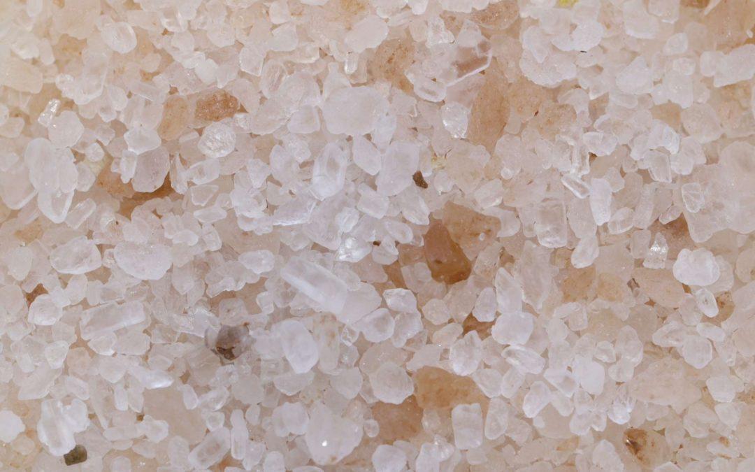 Le sel met son grain dans les parfums