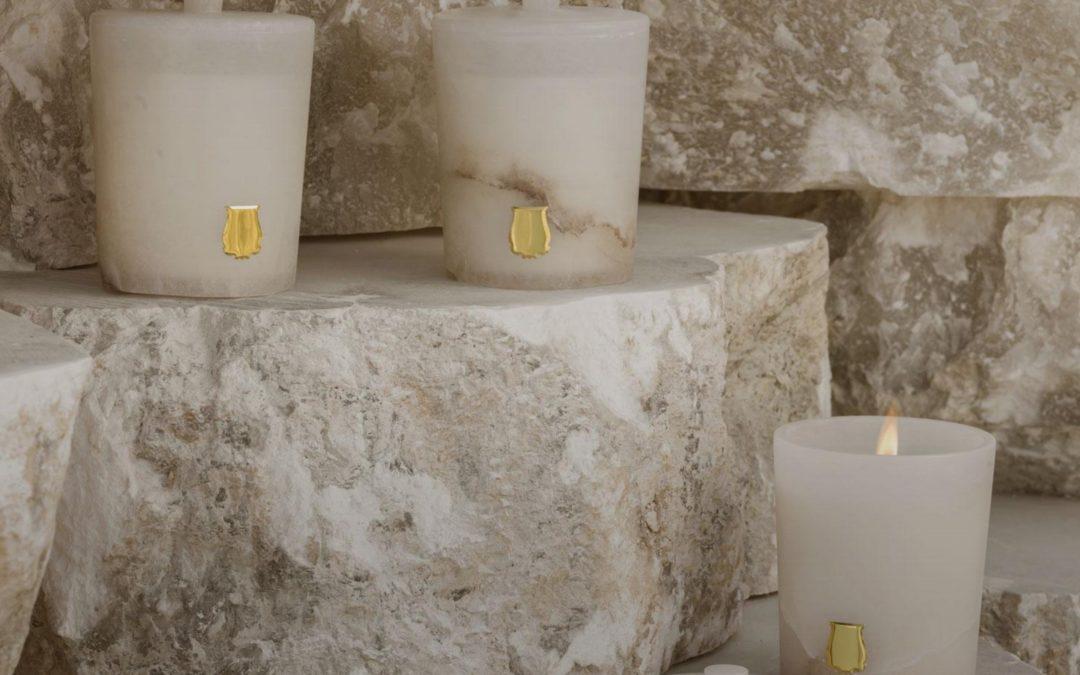 L'albâtre, nouvel écrin des bougies Trudon