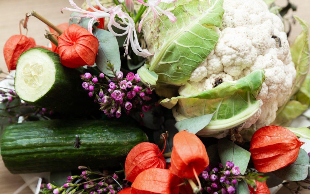 Des légumes dans les parfums de demain