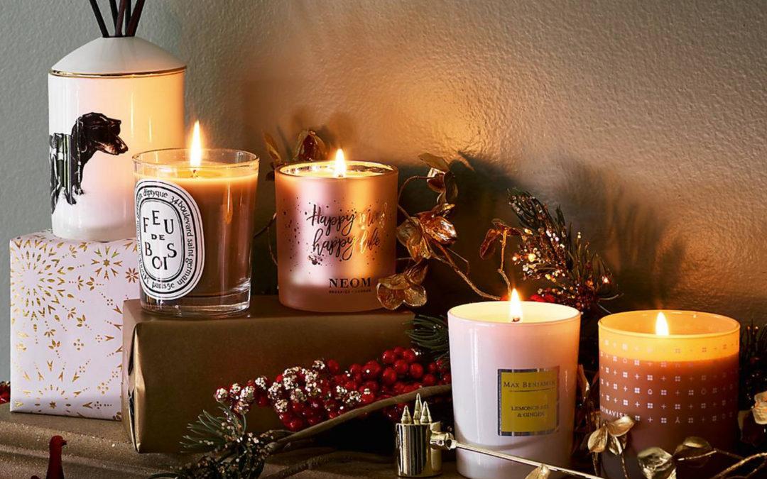 Bougies parfumées, le cadeau parfait pour Noël