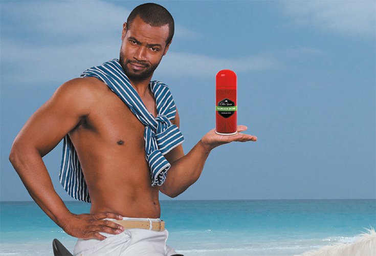 « Smell like a man, man » avec Old Spice