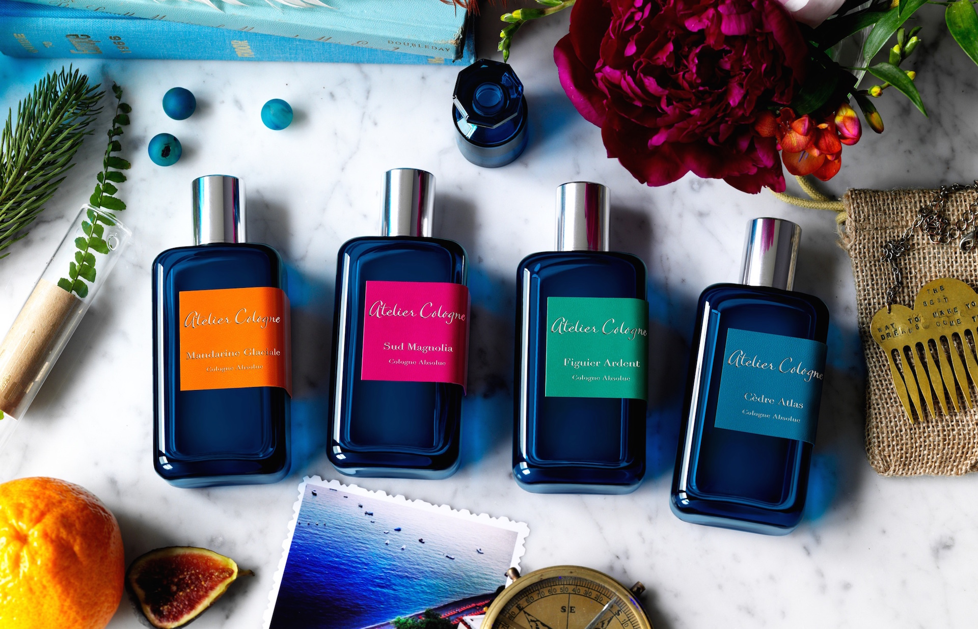 « Azur », la nouvelle collection d'Atelier Cologne