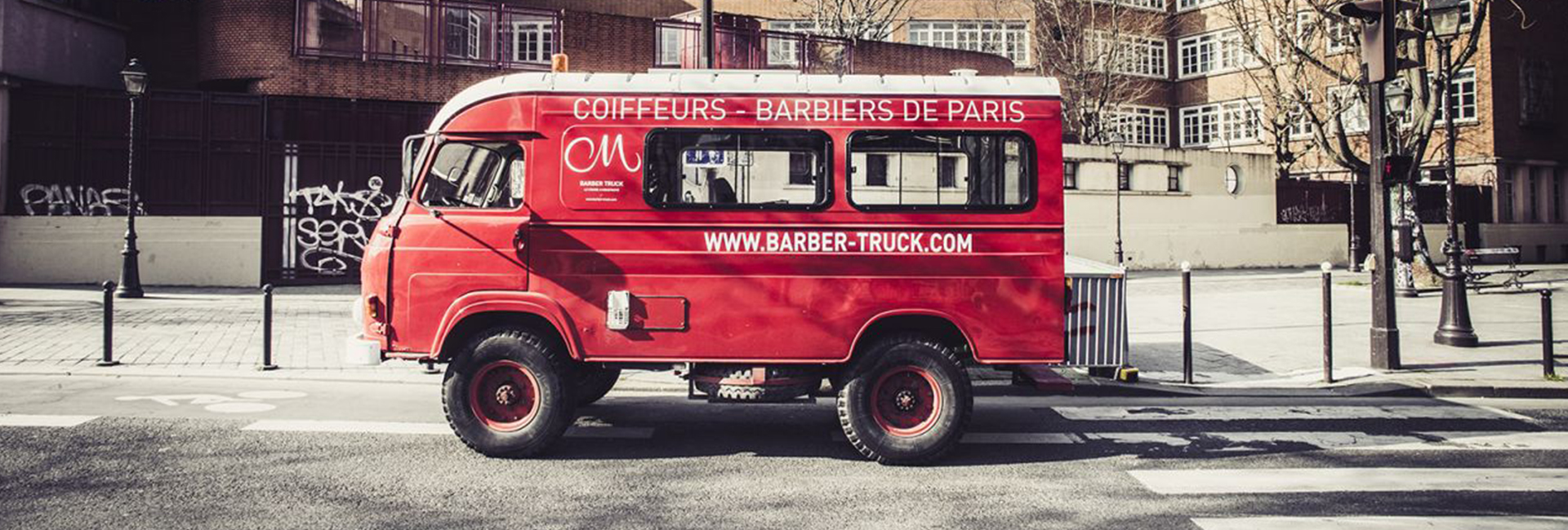 Barber truck Cigare à Moustache